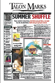 Front page of current print edition